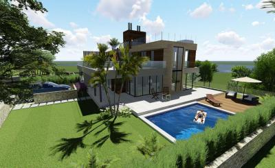 Townhouses with swimming pool and parking in Polop de La Marina, Alicante
