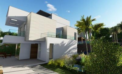 Luxury villas in Lomas del Polop II - under construction