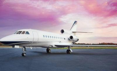 Аренда частного самолета FALCON 900