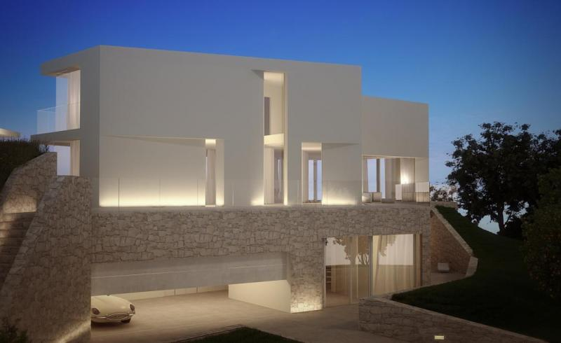 Stunning three-storey Mediterranean Sea View Villa in Javea, Alicante